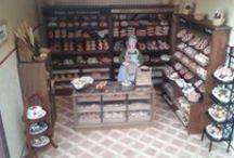 bakery miniature dollhouse