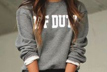 Sweats for all seasons / Sweaters