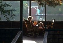 Quiet Corners / To Read | To write | To ponder | To hide | To Siesta