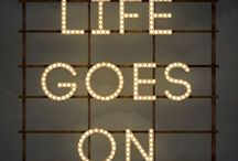 Oh life! / To live, abundant, small things