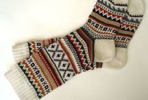 Knits and scarfs / Scarfs, knits, wool and other cozy things to put on