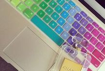 ♔ My tech / - Gadgets, Technology, Office space,Things that I like - / by Uℓviỿỿa S.