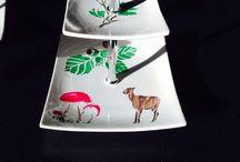 Porcelein schilderen / Glas, keramiek en porcelein schilderen