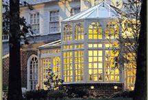 ♔ Conservatory / - Greenhouse, Orangery, Terrarium plants, Solarium, Sun room - / by Uℓviỿỿa S.