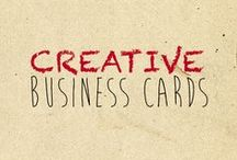 Creative Business Cards / Creative aser engraved business cards on wood, metal, plastic