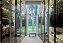 Walk in closet, Scandinavian designer inspiration