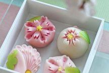 Dessert, cake, wagashi~