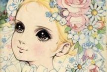 Vintage manga&image