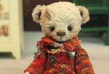Handmade doll, Bears