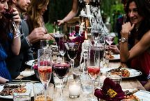 Feast of Friends | Wining & Dining / To wine, to dine, to braai, to celebrate...