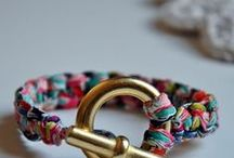 THREAD JEWELLERY / Jewellery made from different threads