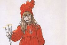 Christmas, Carl Larsson style
