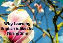 Learn English Theme - Springtime