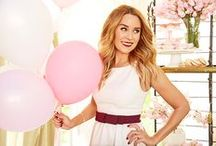 LC Celebrate Collection / An entire LC Lauren Conrad for Kohl's collection based on the parties that Lauren planned in her latest book, Celebrate.