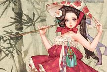 Hanbok illustration | Art