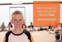 No Kid Hungry / 1 in 5 children in America struggle with hunger.  A $1 cookie sold can help connect a child with 10 meals.  Sign up to host a Bake Sale for No Kid Hungry: Bake.NoKidHungry.org