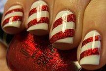 Christmas Nails / Selection of inspirational nail art