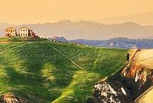 ✤ Italy * Middle / Tuscany, Marche, Lazzio, Arbuzzo & Cumbria