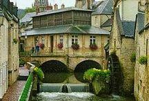 ✤ France * Normandie, Picardie, Nord-Pas De-Calais / Normandy, Picardy, Cities:  Caen, Rouen, Amiens, Lille...