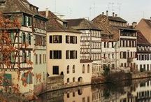 ✤ France * Franche-Comté, Lorraine, Alsace  / Dijon, Châlons-en-Champagne, Metz, Strasbourg, Besancon...
