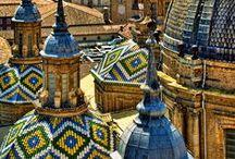 ✤ Spain * Catalonia, Aragon / Navarra, Cataluna, Aragon, CITIES: Zaragoza, Barcelona, Gerona, Tarragona, Huesca, Lerida, Teruel....