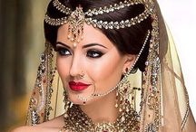 Indian Weddings - Beauty / Showcasing images of beautiful Indian wedding hair & makeup styles for inspiration!