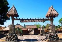 Lombok Traditional Villages / Traditional villages in Lombok. Sasak is a tribe in Lombok Island.