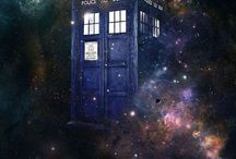 Doctor Who. / Time And Relative Dimension In Space. That's TARDIS for you!  Allons-y!