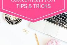 Organisation Tips & Tricks