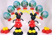 Minnie & Mickey balloons  / by MLO