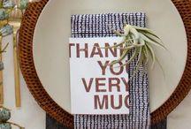 g i v i n g  +  t h a n k s / Home and Table Decor for Thanksgiving