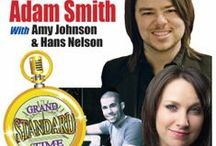 "Grand Standard Time / Adam Smith returns to his hometown for one Special Engagement in a 'Not to be Missed"" performance with vocalist Amy Johnson and Hans Nelson on piano. Tecumseh Center for the Arts Lobby Lounge offers light refreshments, beer and wine, opens at 6:30 p.m. Performance starts at 7:30 p.m. Tickets are $10. Everyone is invited to stay after the performance to meet and greet Adam, Amy, and Hans, during our dessert reception."