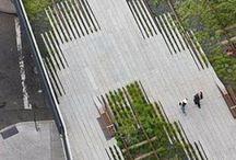 Architecture | Landscape / Общественные пространства