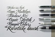 | Calligraphy / Каллиграфия