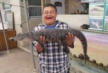 Gifts From the Heart For Downs / Gifts From the Heart For Downs and Everglades Holiday Park make a wish come true for one boy who wanted to meet Paul from the Gator Boys!