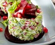 Vorspeise / Beilage / Mezeler / Kalte Speisen bzw. Vorspeisen. Auch genannt Meze und super geeignet als Beilage zum Essen