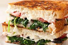 Sandwich / Burger / Wrap / Einfach und lecker ist ein Sandwich, Burger oder Wrap
