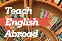 Teaching English Abroad  / The best tips and advice on teaching English abroad for TEFL, ESL and CELTA. Highlights include teaching English in China, South Korea, Vietnam and Thailand as well as online teaching tips.