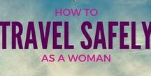 Solo Female Travel Tips  / Solo female travel tips for the solo female traveler! From how to prepare for solo female travel, what to wear, what to pack and how to travel safely as a woman - Teacake Travels has got you covered.