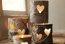 Candle Decoration / Centerpieces and room accents