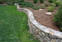 LAWN-N-ORDER projects / Landscaping, stonework, design