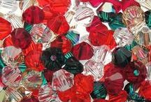 Exclusive Swarovski 4mm Bicone Bead Mixes / Auntie's Beads pioneered the idea of putting together custom Swarovski bead mixes that are color-coordinated to make your jewelry design work easier. Here we feature some of our most popular bicone mixes. 