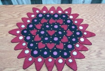 Rugs...penny, hooked, applique