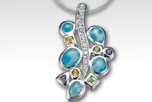 Retired MarahLago Larimar Jewelry Designs / Here are the pieces that are no longer in production.  MarahLago has retired these Larimar jewelry designs.  Enjoy!