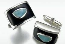 MarahLago Men's Collections / MarahLago's Larimar Jewelry Designs for Men (can be worn by both men and women!)