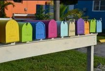 Unique Mailboxes / pinned by MIT Powder Coatings www.mitpowdercoatings.com