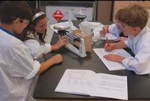 Lab Learner Science  / With quality laboratory based instructional materials, students continually explore, observe, and heighten their awareness of the world around them. The teachers at The Wood Acres School encourage critical thinking across the curriculum by linking both Science and Social Studies to the concepts learned in Reading and Mathematics.