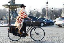 Urban Chic / Street Fashion. Ride and Shine!