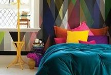 | colour | / inspirational interiors making unique and innovative use of robust colours