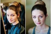 Makeup: Before & After / Makeup by Caitlyn Holmboe and Gretchen Harp at Urbaca Salon in Portland OR